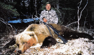 700 Remington in 300 UltraMag - Alaskan Grizzly Bear